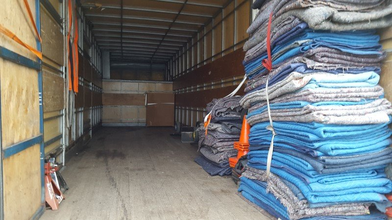 back of truck house removals service