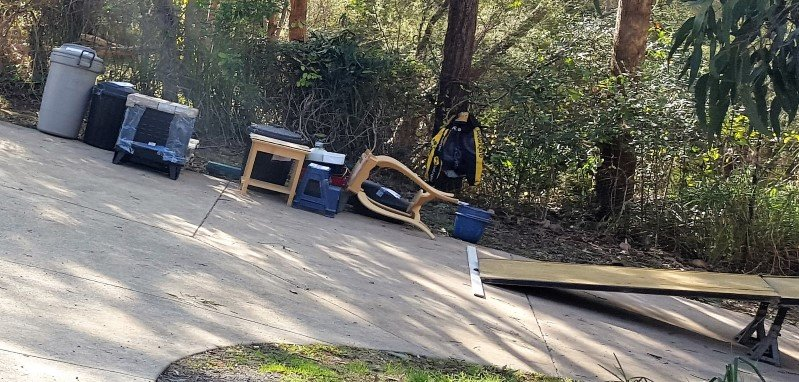 sloping Drive way keilor furniture removalist