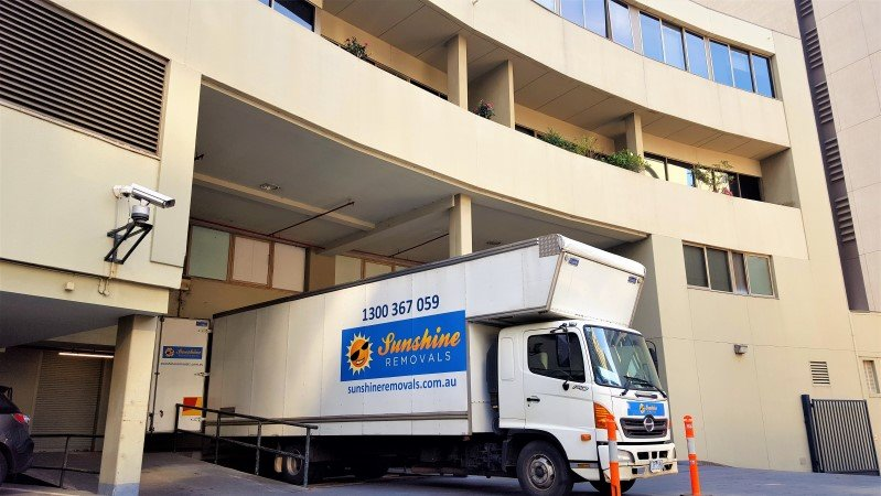 Hi Rise Apartments and removalists.