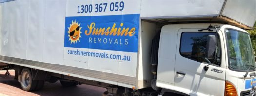 Sunshine deceased estate furniture removals service truck
