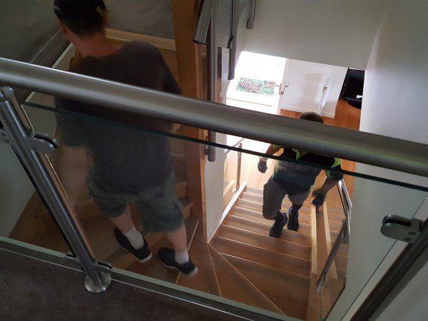 furniture removalists Taylors Lakes encounter tight stairs.