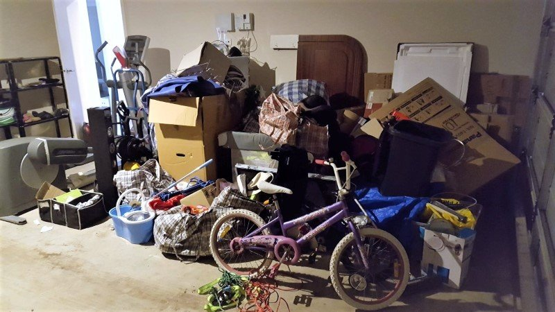 Clutter and mess can make an expensive home furniture removal.