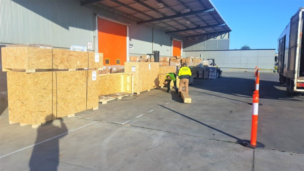 Commercial furniture removals melbourne from warehouses.
