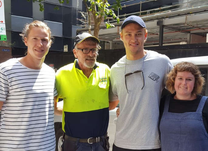Sunshine Furniture Removalists meet Tom Langdon and Darcy Moore.