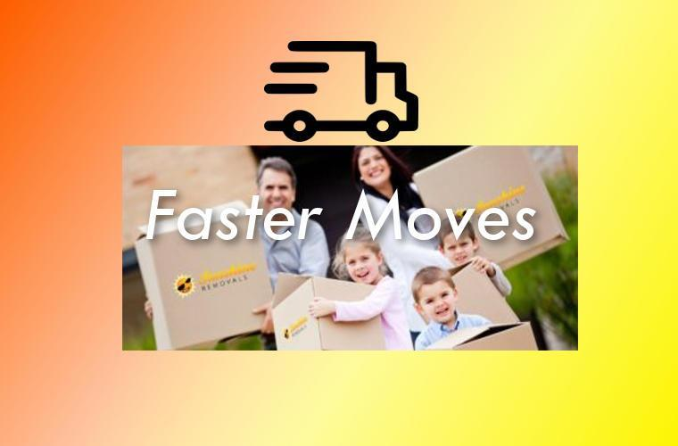 Family moving and fast truck for Melbourne Removals.