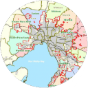 Map of Sunshine Removals Melbourne Western Suburbs