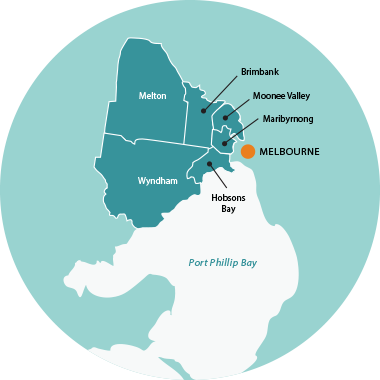 Map of Sunshine Removalists Melbourne Western Suburbs