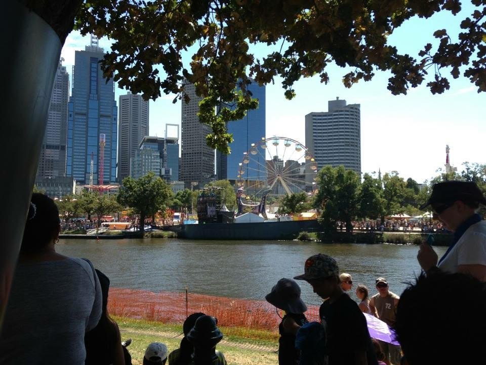 Melbourne is the best city to live in like Moomba Festival.
